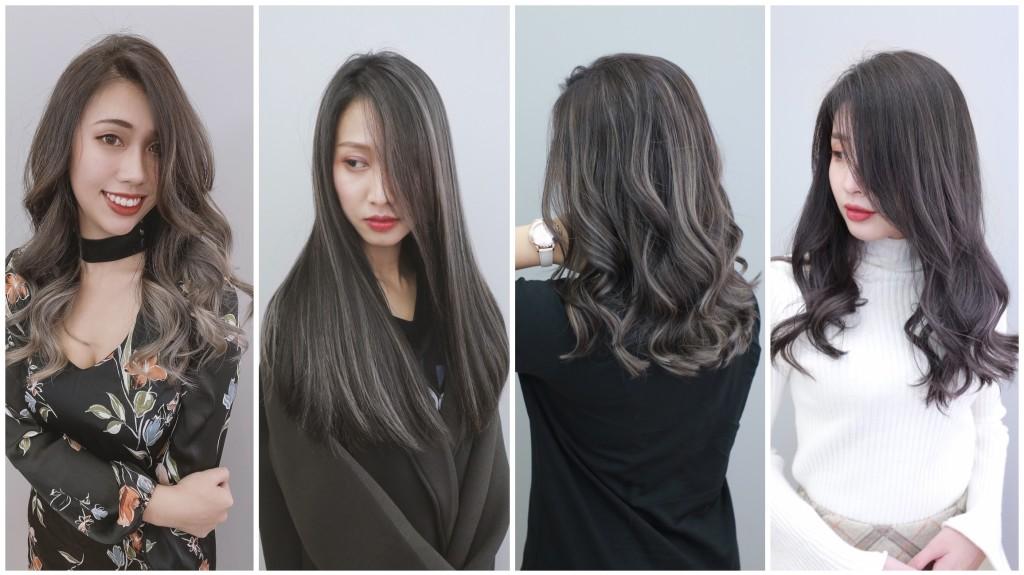 歐美手刷染 線光染 台中染髮推薦 元氣美髮