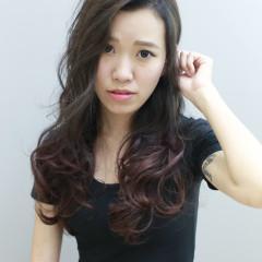灰棕+粉紫紅漸層染+Niophlex護髮