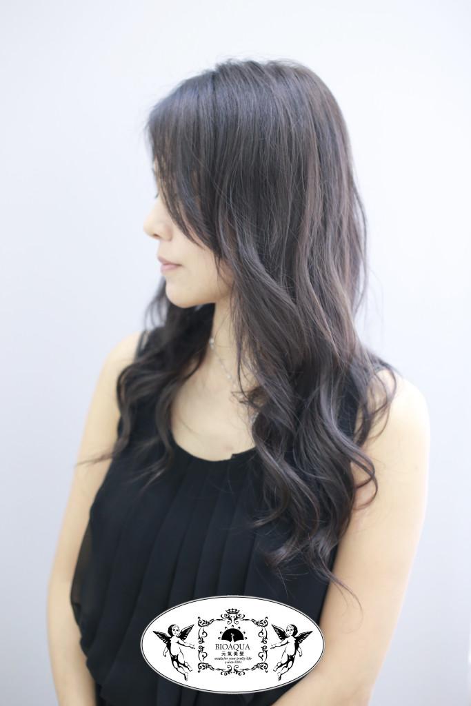 霧感灰棕色+資生堂水質感燙 - 台中髮廊 台中燙染推薦 公益路 元氣美髮