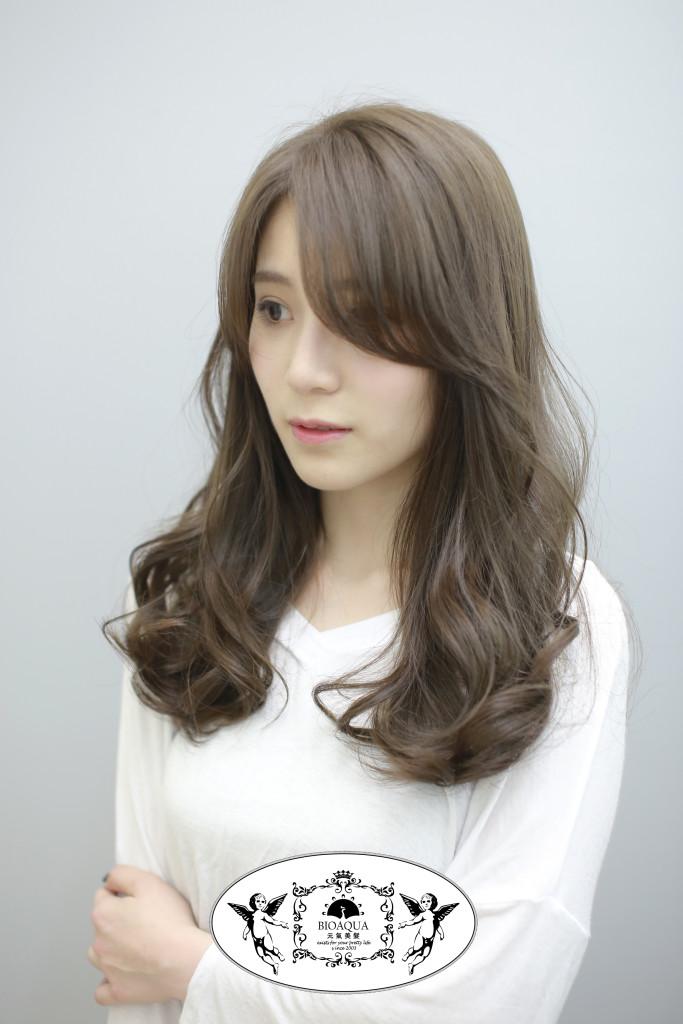 日系灰棕色 - 霧感髮色 台中西區髮廊 台中染髮推薦 bioaqua元氣美髮