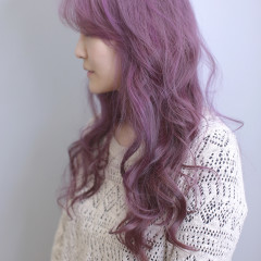 灰霧紫色調設計染
