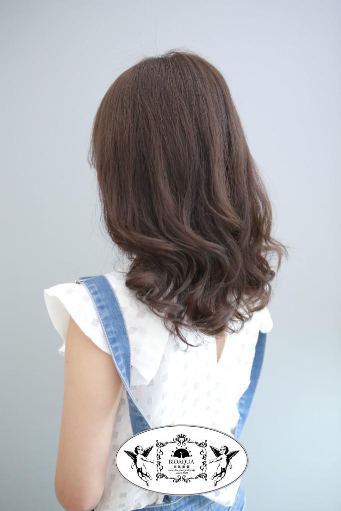 木質調霧紫色 台中染髮推薦 - 台中髮廊推薦 bioaqua元氣美髮