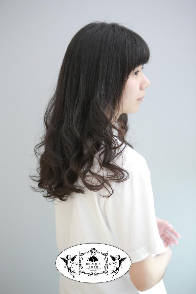 水質感大波浪捲髮 台中燙髮推薦 - 台中髮廊 Bioaqua元氣美髮