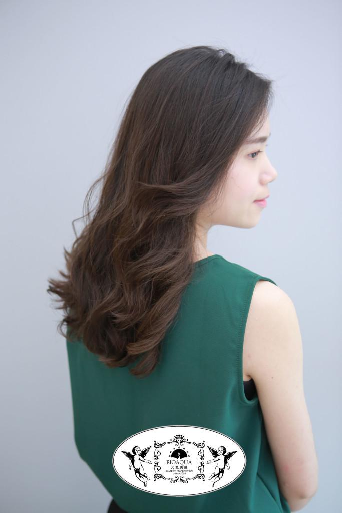 資生堂水質感 手繞播波浪捲 台中燙髮推薦 - 台中髮廊 元氣美髮