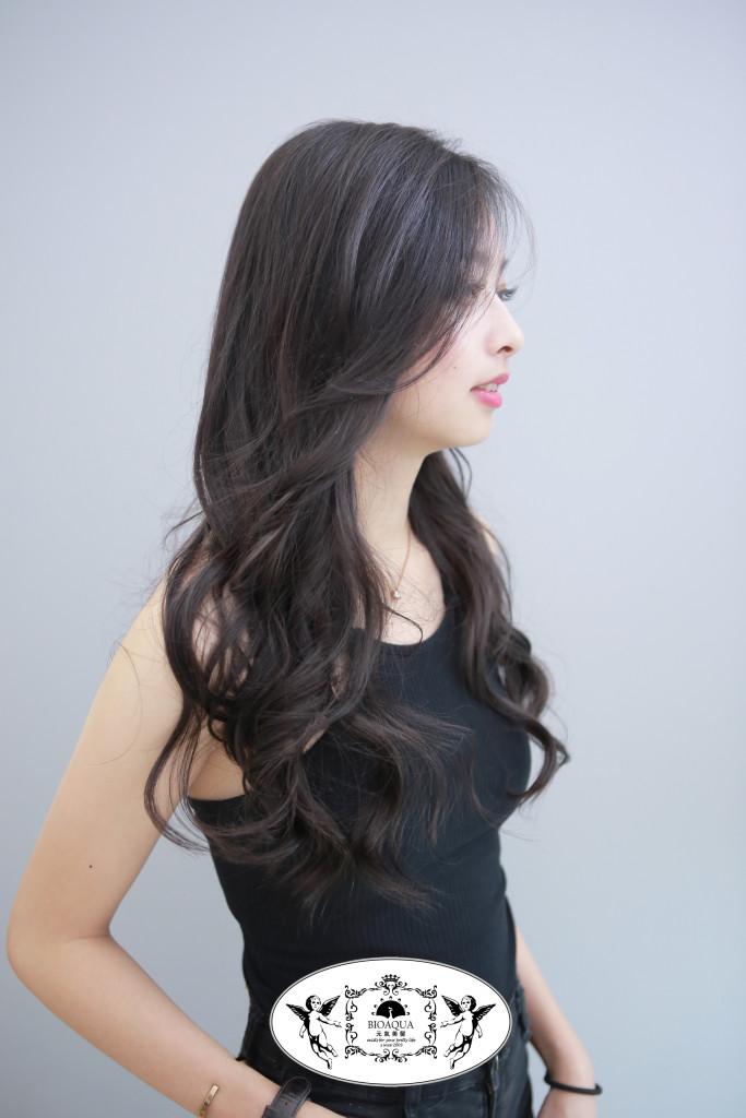 霧感深灰棕色 台中染髮推薦 - 台中西區髮廊 元氣美髮