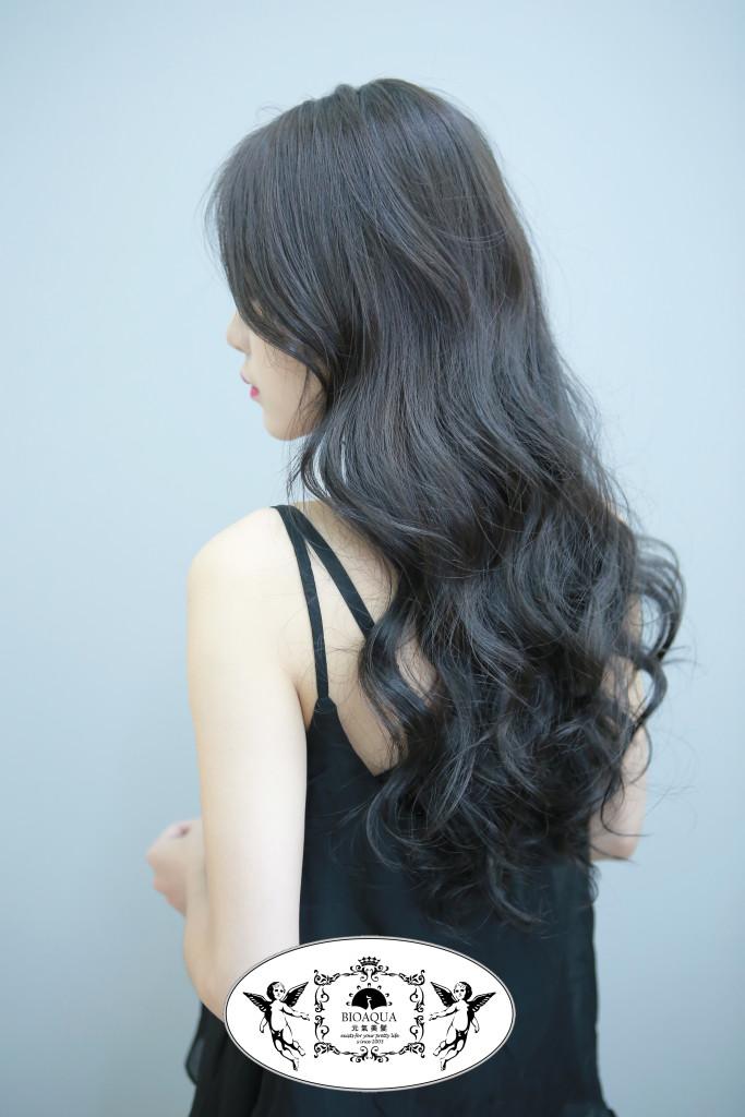 深霧灰棕色系 台中染髮推薦 - 台中髮廊 Bioaqua元氣美髮