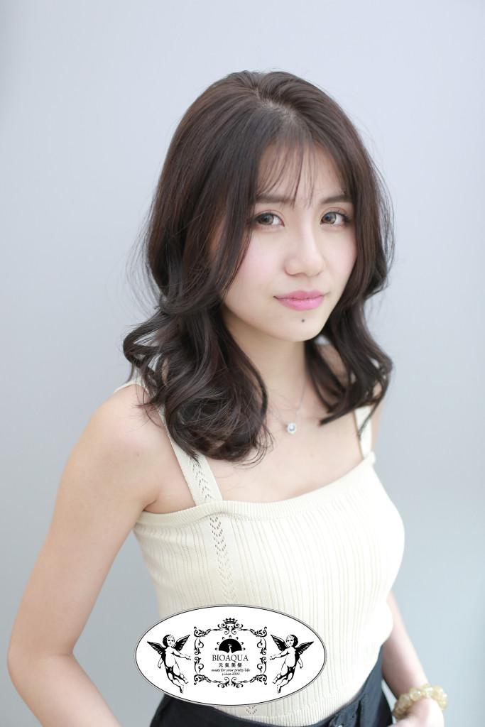 深灰紫棕色 台中染髮推薦 - 台中髮廊 bioaqua元氣美髮