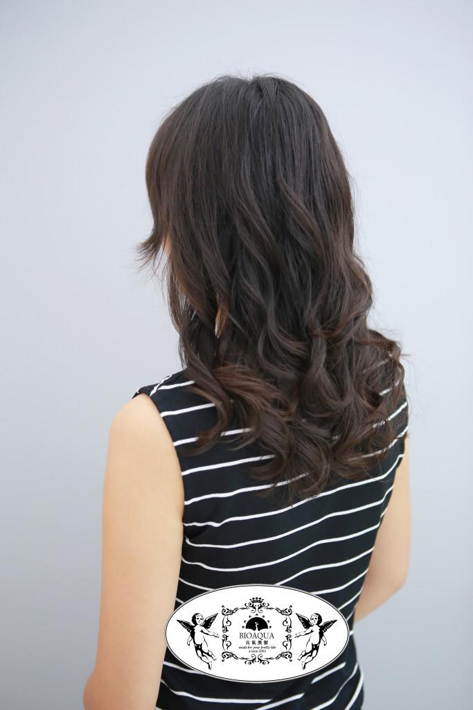 資生堂水質感 手繞捲 台中燙髮推薦 - 台中髮廊 元氣美髮