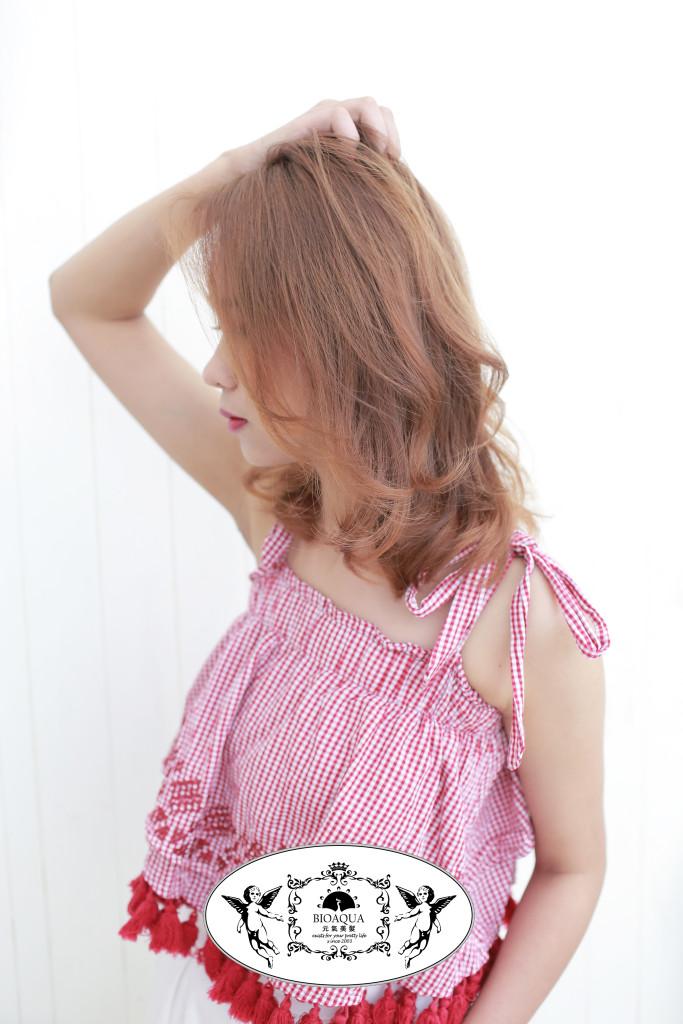 蓬鬆柔軟捲髮 髮妝燙 資生堂水質感 台中燙髮推薦- 台中髮廊 元氣美髮