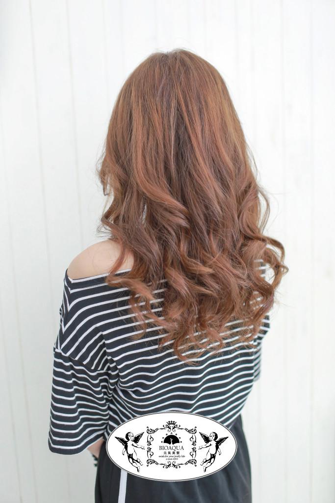 手繞燙波浪捲  水質感燙 髮妝燙 台中燙髮推薦 - 台中髮廊 元氣美髮