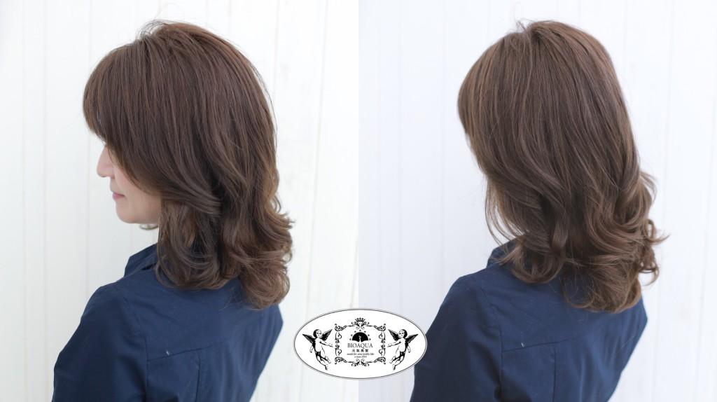台中燙髮推薦 台中髮廊 資生堂水質感燙 髮妝燙 手繞燙 bioaqua元氣美髮