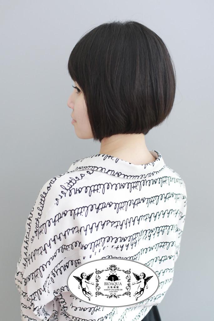 BOB頭+圓弧直髮燙 台中中長髮推薦 - 台中髮廊 元氣美髮