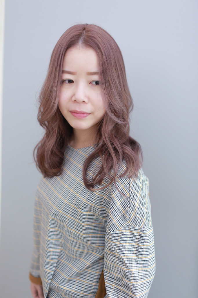 粉灰紫棕色 霧感髮色 台中染髮推薦 - 台中髮廊 元氣美髮