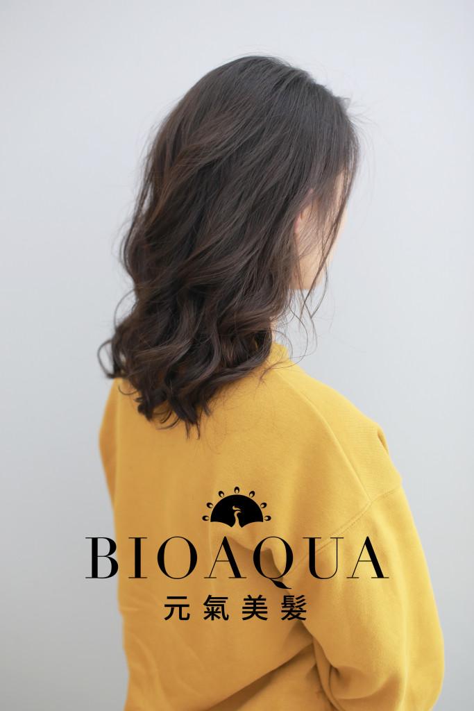 Q彈水潤捲髮 資生堂水質感 台中燙捲髮推薦 - 台中髮廊 元氣美髮