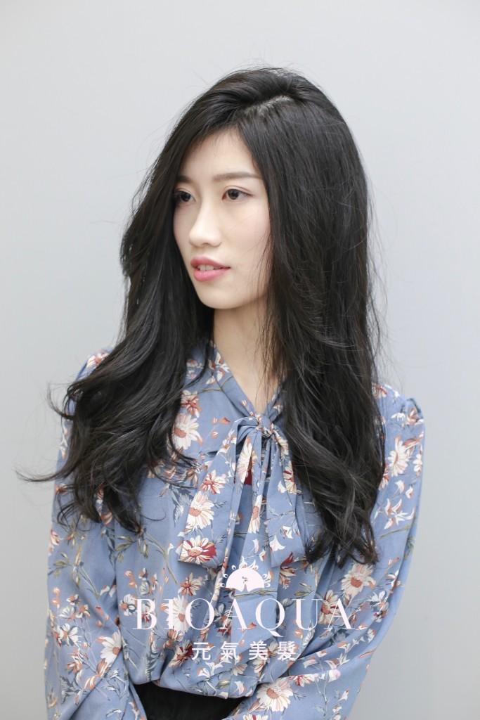 資生堂水質感大波浪捲 - 台中髮廊 燙捲髮推薦 元氣美髮