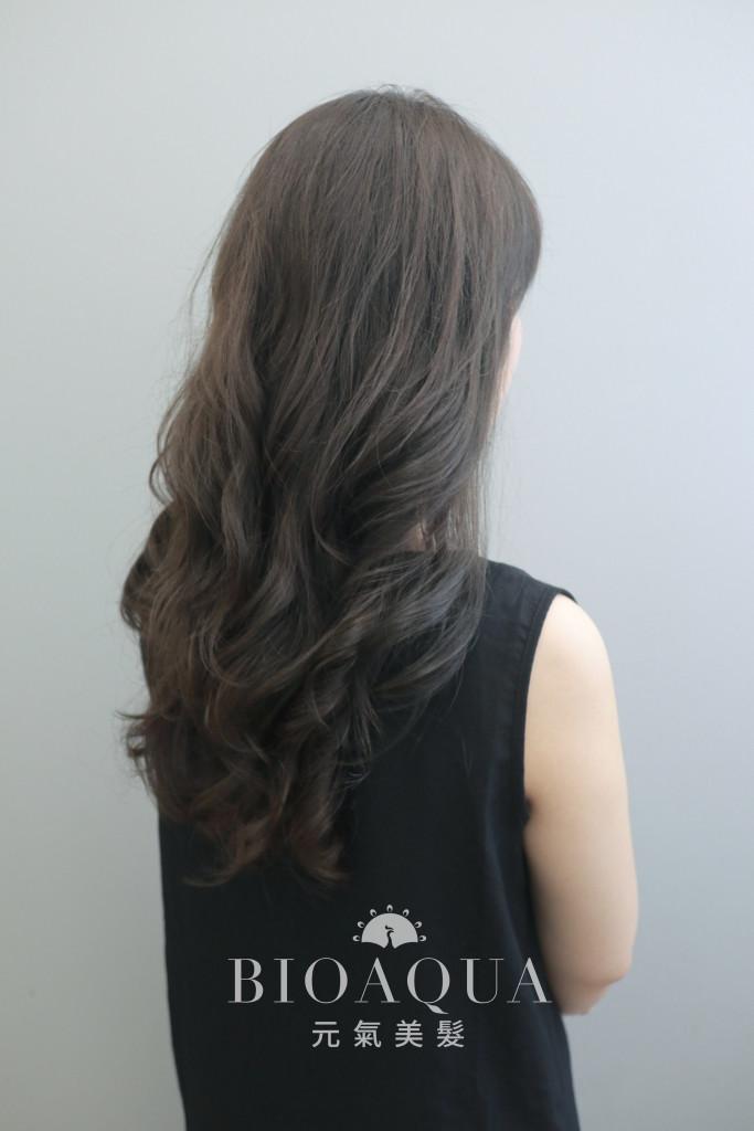 霧感深灰棕色+資生堂水質感燙 - 台中髮廊 元氣美髮