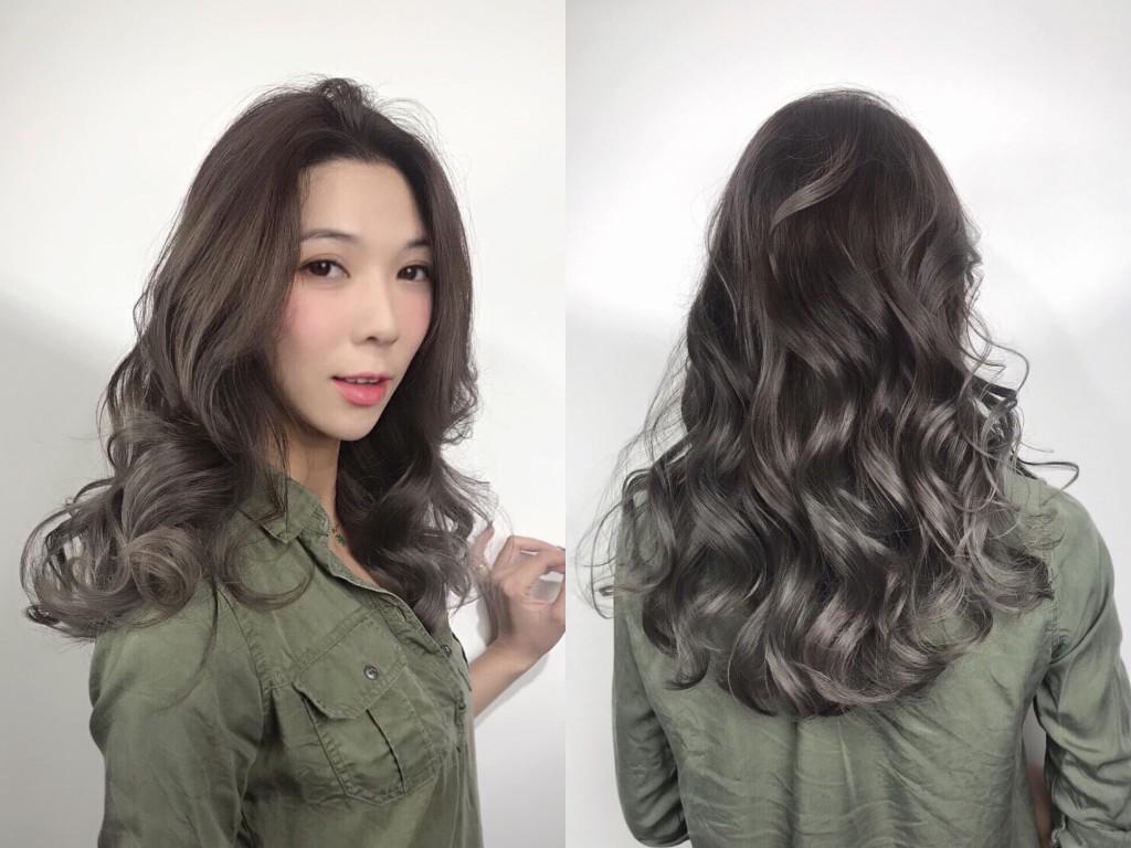 灰色調漸層染 4大IG人氣髮色 從日韓夯到國內!蜜蜂推薦 - 台中髮廊 元氣美髮