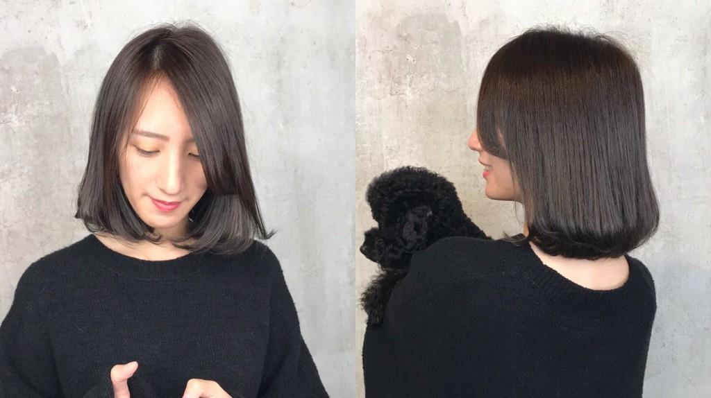 深灰棕色ㄒ4大IG人氣髮色 從日韓夯到國內!蜜蜂推薦 - 台中髮廊 元氣美髮