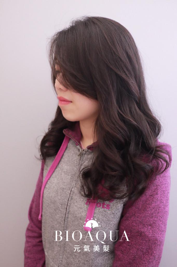 資生堂水質感手繞電棒燙 - 台中髮廊 燙髮推薦 元氣美髮