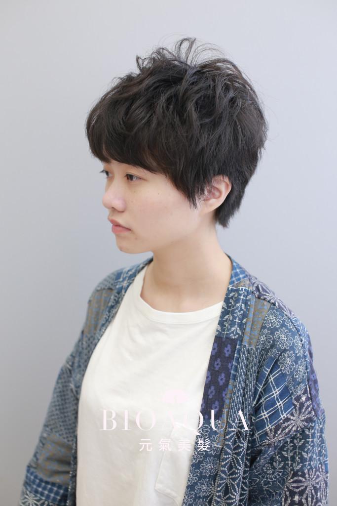 帥氣小男孩風 個性短髮 - 台中髮廊 剪髮推薦 元氣美髮