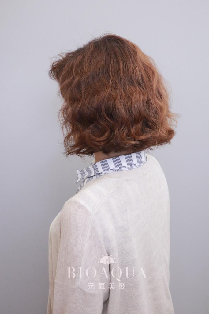 復古風蛋捲頭蓬蓬捲 - 台中髮廊 剪髮燙髮推薦 元氣美髮