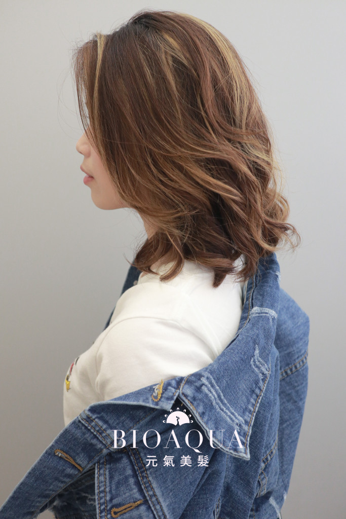 燙型不燙捲 空氣感捲髮 - 台中髮廊 燙髮推薦 元氣美髮