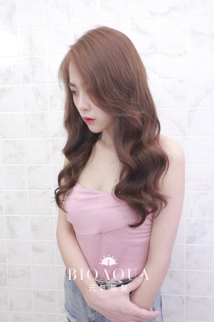 美人魚大波浪捲 by 資生堂水質感 - 台中髮廊 燙髮推薦 元氣美髮