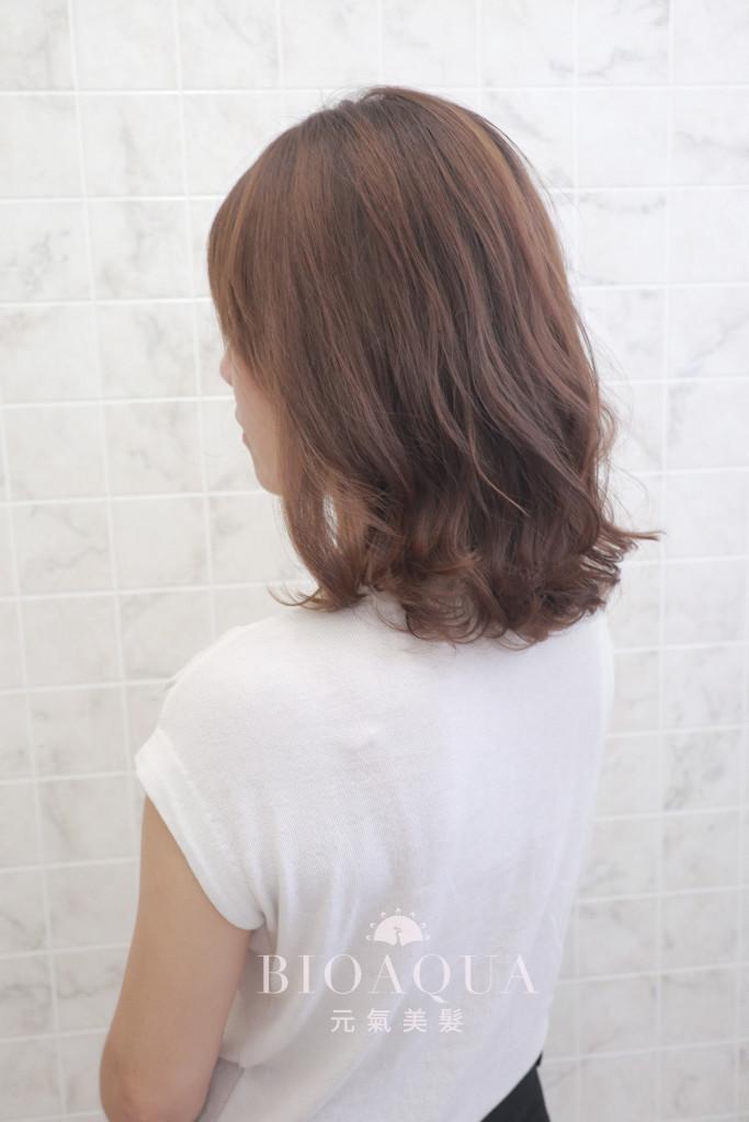 中長髮蓬鬆BOB捲 by 資生堂水質感 - 台中髮廊 燙髮推薦 元氣美髮