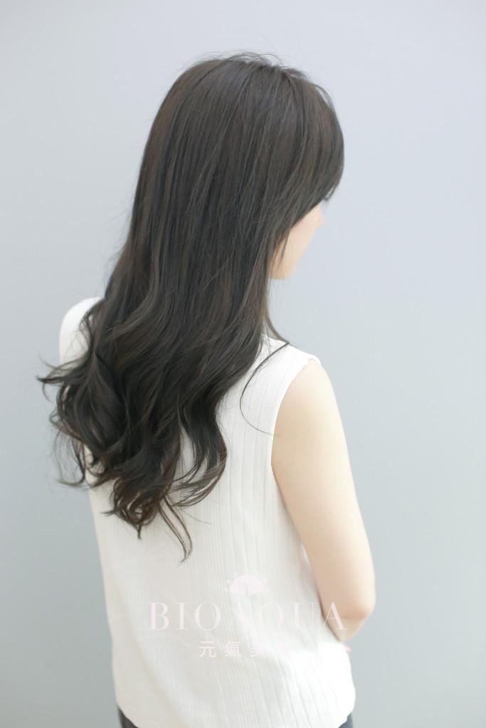 霧感深灰綠棕髮色 - 台中髮廊 剪髮染髮推薦 元氣美髮