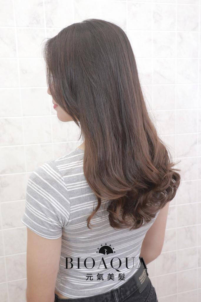 手繞燙電棒大捲 - 台中髮廊 剪髮燙髮推薦 元氣美髮