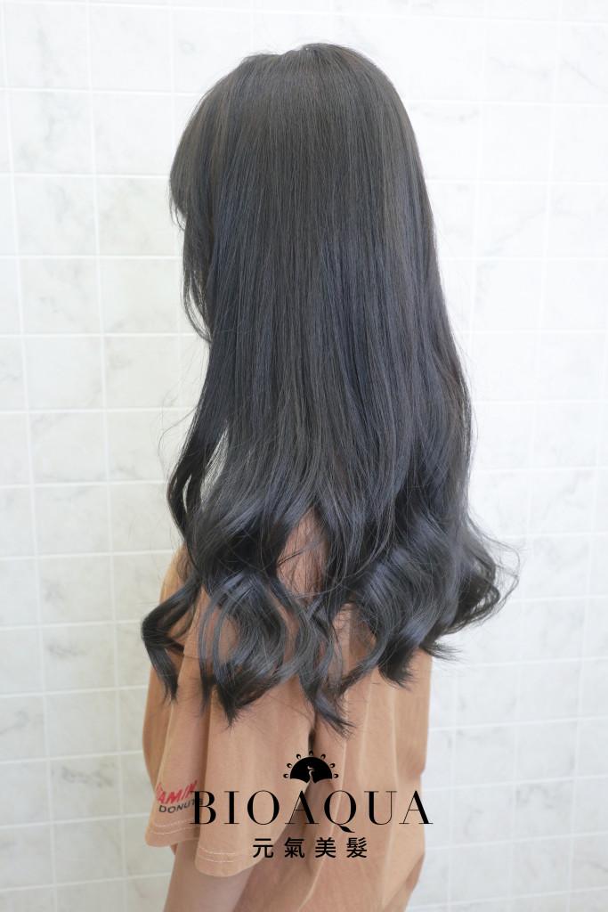 煙燻深灰棕髮色 霧感髮色 - 台中髮廊 剪髮染髮推薦 元氣美髮