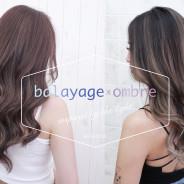 時尚染髮推薦~歐美手刷線條染髮