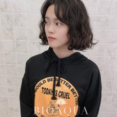 韓妞款蓬鬆BOB捲髮