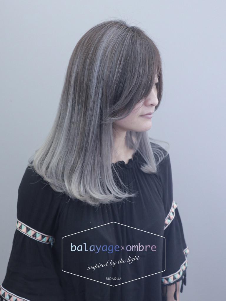 淺灰色調手刷染 - 台中髮廊 歐美髮色推薦 元氣美髮