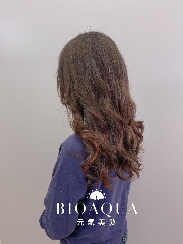 電棒感手繞燙 by 資生堂水質感 - 台中髮廊 剪髮燙髮推薦 元氣美髮