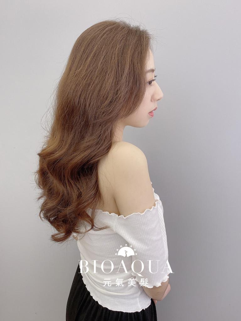 電棒風手繞燙 by 資生堂水質感燙 - 台中髮廊 剪髮燙髮推薦 元氣美髮