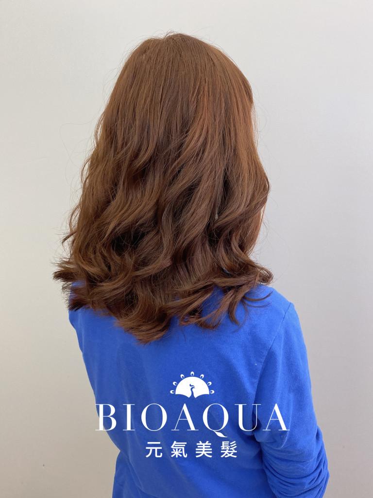 韓式手繞電棒燙 by 資生堂水質感 - 台中髮廊 捲髮染髮燙髮推薦 元氣美髮