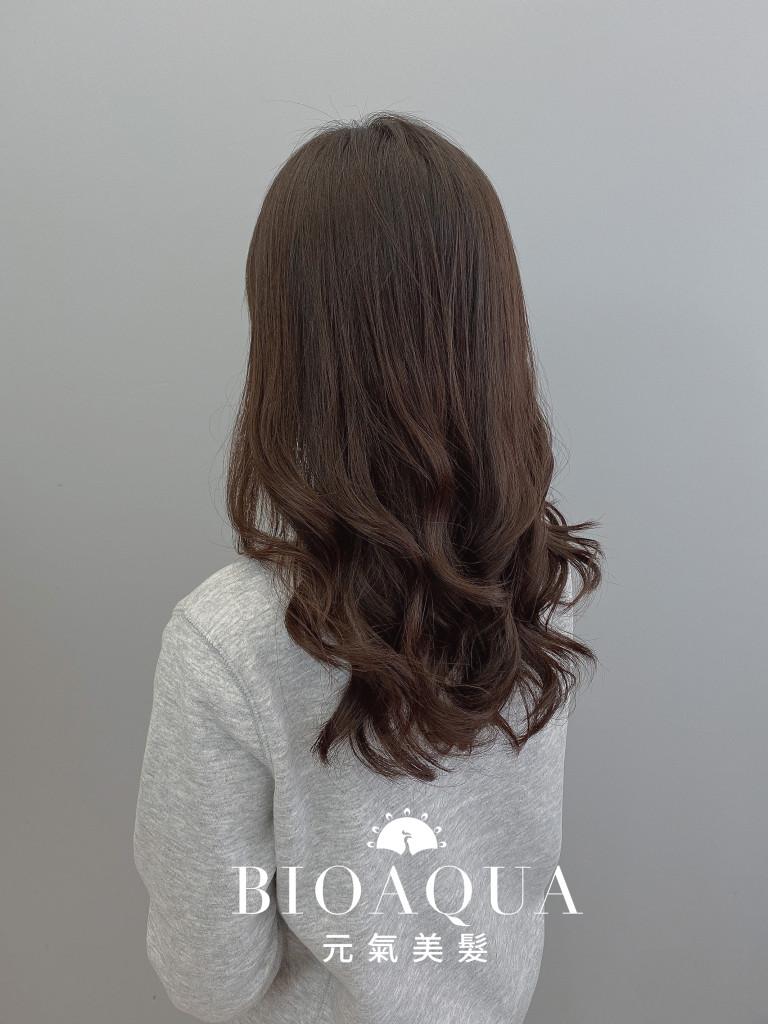 電棒感手繞燙 by 資生堂水質感 - 台中髮廊 燙髮護髮推薦 元氣美髮