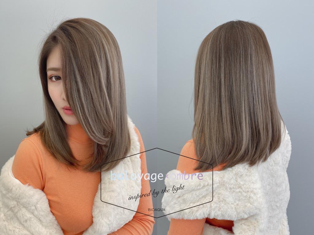 歐美時尚染髮推薦~歐美手刷線條染髮 - 台中髮廊 元氣美髮