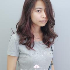 焦糖色調&紫紅色設計染