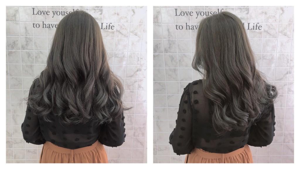 灰綠棕色 Emma設計師的時髦設計款 優惠放送中~ - 台中髮廊 元氣美髮