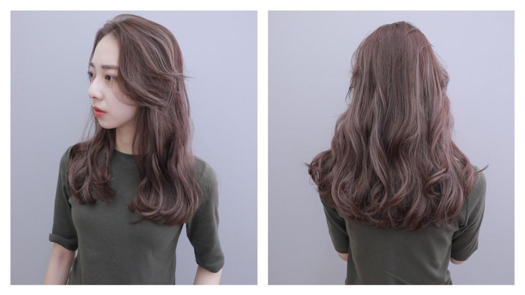 紫霧棕色手刷線條染 Emma設計師的時髦設計款 優惠放送中~ - 台中髮廊 元氣美髮