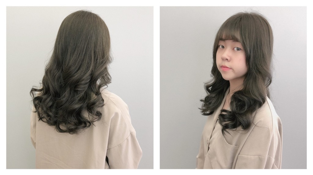 微綠棕色 Emma設計師的時髦設計款 優惠放送中~ - 台中髮廊 元氣美髮