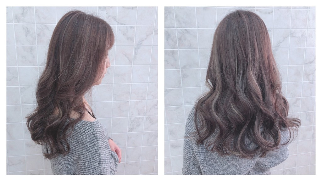 奶茶灰歐美手刷線條染 Emma設計師的時髦設計款 優惠放送中~ - 台中髮廊 元氣美髮