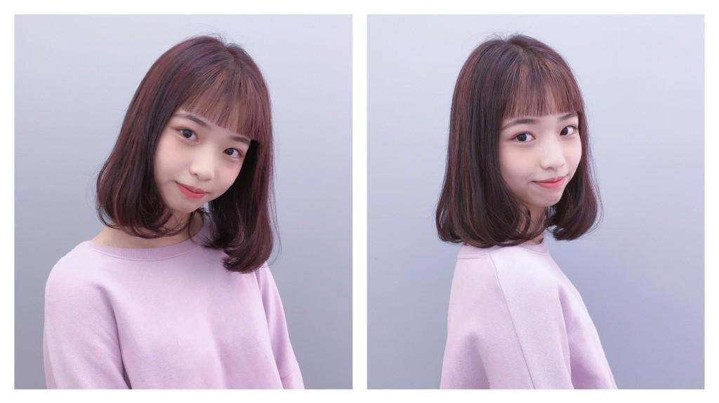 紅棕色調挑染 內彎鮑伯頭 Emma設計師的時髦設計款 優惠放送中~ - 台中髮廊 元氣美髮