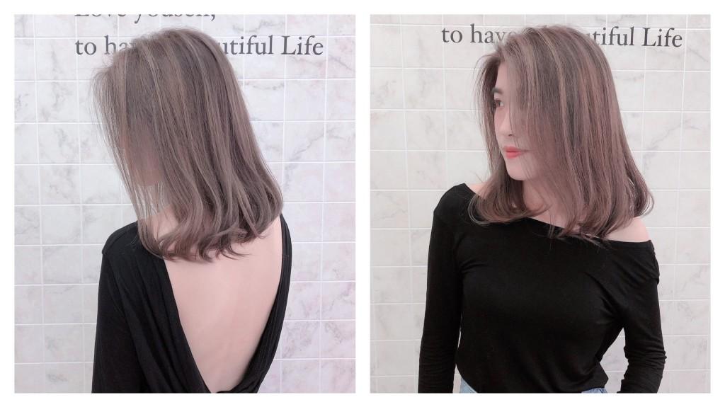 奶茶色 奶茶灰 Emma設計師的時髦設計款 優惠放送中~ - 台中髮廊 元氣美髮
