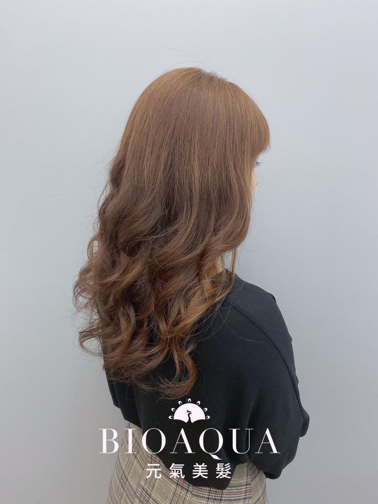 電棒風手繞燙 by資生堂水質感 - 台中髮廊 護髮燙髮推薦 元氣美髮
