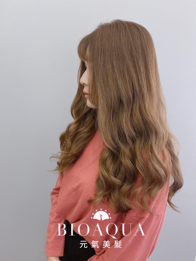 手繞電棒燙 by 資生堂水質感 - 台中髮廊 護髮燙髮推薦 元氣美髮
