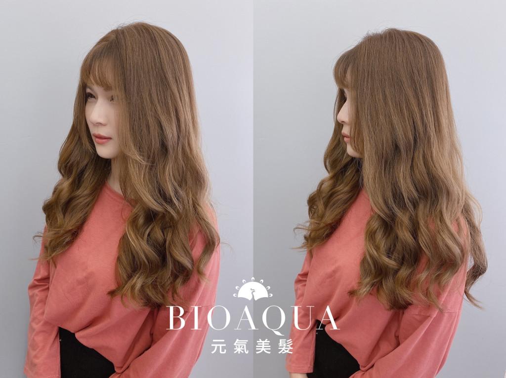 手繞電棒燙 Emma設計師的時髦設計款 優惠放送中~ - 台中髮廊 元氣美髮