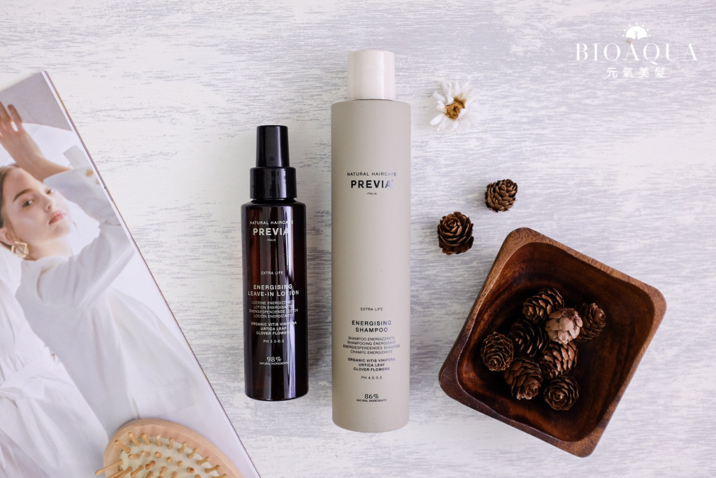 Previa 來自義大利的有機天然植萃髮品 - 台中髮廊 頭皮保養推薦 元氣美髮